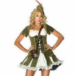 Leg Avenue Thief Of Hearts Halloween Costume NWOT